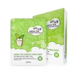 esfolio - Pure Skin Green Tea Essence Mask Sheet Set 10pcs