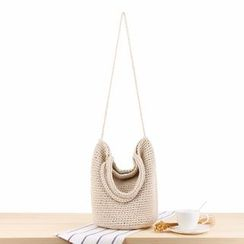 Kolso - Straw Bucket Bag