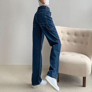 Shira - High-Waist Wide-Leg Jeans
