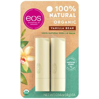 eos - Vanilla bean 2-pack lip balm