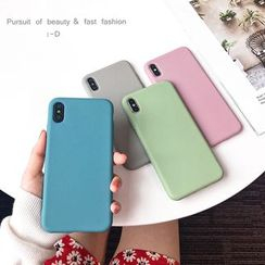 Hachi - Plain Mobile Case - iPhone XS Max / XS / XR / X / 8 / 8 Plus / 7 / 7 Plus / 6s / 6s Plus