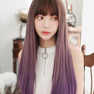 SEVENQ - Long Full Wig - Gradient Straight