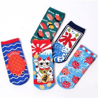 Shippo - Japanese Print Socks