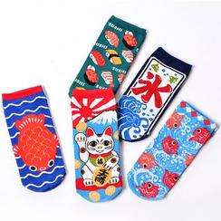 Shippo - 印花袜