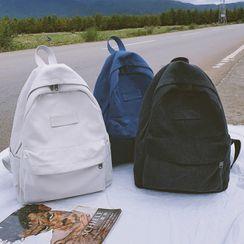 SUNMAN - Canvas Zip Backpack