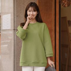 CLICK - Wide-Sleeve Loose-Fit Pullover