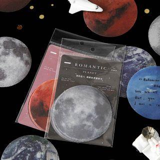 Ms Zaa - Planet Transparent Memo Pad
