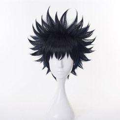 Macoss - 咒术迴战 - 伏黑惠角色扮演假发