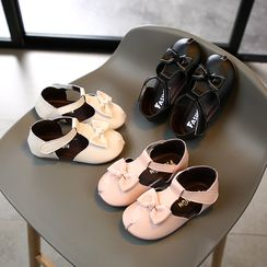 Luco - Kids Bow-Accent Sandals
