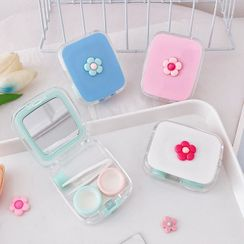 Chichat - Contact Lens Case with Portable Mirror