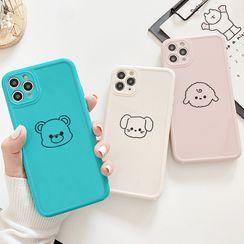 Mobby - Animal Print Phone Case - iPhone 11 Pro Max / 11 Pro / 11 / SE / XS Max / XS / XR / X / SE 2 / 8 / 8 Plus / 7 / 7 Plus