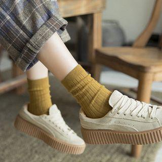 Mimiyu - Set of 3: Plain Socks