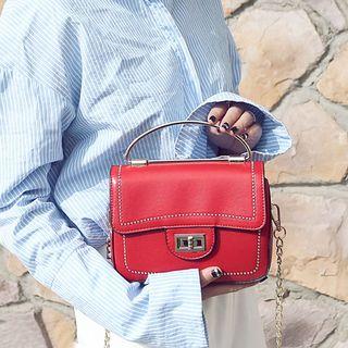Clair Fashion(クレアファッション) - Faux Leather  Satchel