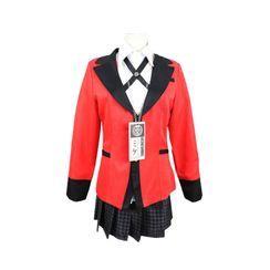 Macoss - Kakegurui - Joueur compulsif: Costume de Cosplay Yumeko Jabami