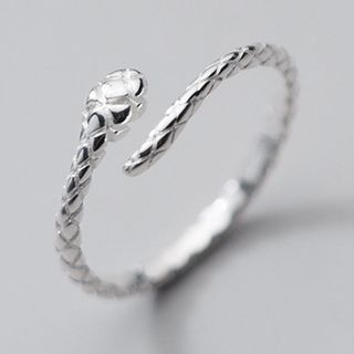 A'ROCH - Snake Sterling Silver Open Ring