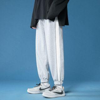 Ceache - 配色边运动裤