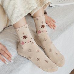Mimiyu - 三對一套: 襪子