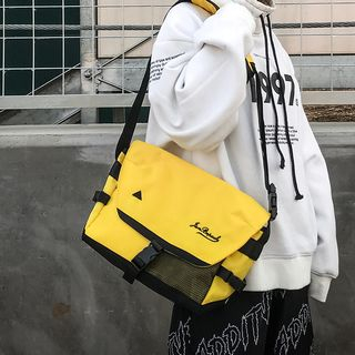 Carryme - Mesh Pocket Messenger Bag