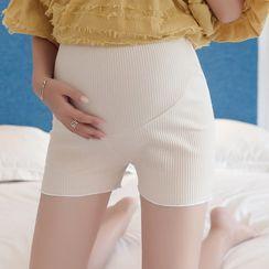Empressa - Maternity Ribbed Shorts