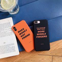 Wild Pony - 字母手机保护壳 - iPhone 11 Pro Max / 11 Pro / 11 / XS Max / XS / XR / X / 8 / 8 Plus / 7 / 7 Plus / 6s / 6s Plus
