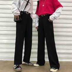 Porstina - Pantalon droit / Pantalon large