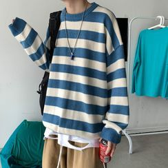 Sartho - Striped Sweater