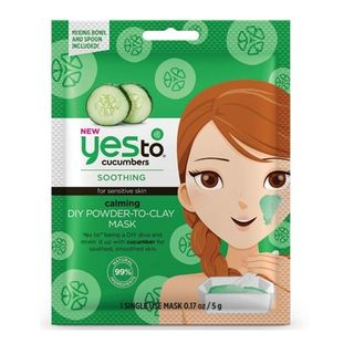 Yes To - Yes To Cucumbers: Calming DIY Powder-to-Clay Mask (Single Pack)