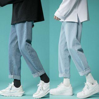 VERSIBO - 直筒牛仔褲