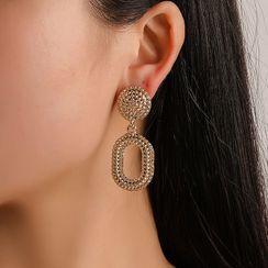 B.muse - Glitter Hoop Dangle Earring