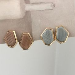 Amuik - Geometry Ear Stud / Clip-On Earring