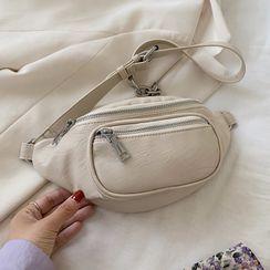 Kunado - Faux Leather Belt Bag