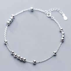 A'ROCH - 925 Sterling Silver Bead Anklet