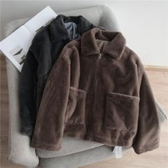 Grenoble - 毛毛拉鏈外套