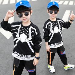 PAM - Kids Spider Print Pullover