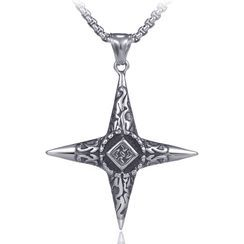 Prushia - Cross Necklace