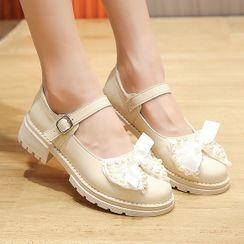 BARCA - 蝴蝶結瑪莉珍鞋