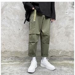 Antaeus - Straight-Cut Cropped Pants