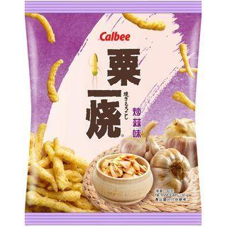 Calbee - Grill A Corn Sabor Ajo Tostado 32g