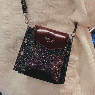 OUCHA - Sequin Crossbody Bag