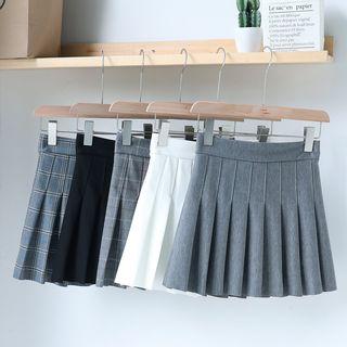 Gretchen - A-Line Mini Pleated Skirt