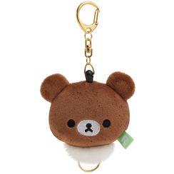 San-X - San-X Chairoikoguma Plush Toy with Key Holder