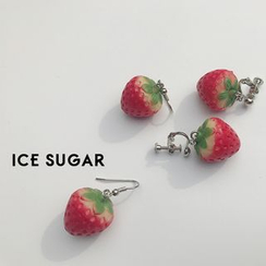 ICE SUGAR - Strawberry Earrings