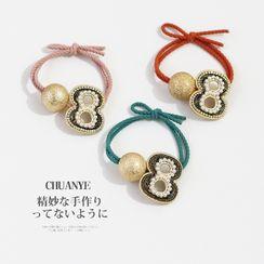 Kawano - Numerical  & Bead Hair Tie