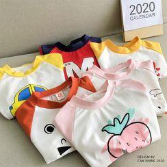 Shaneebabe - Kids Printed Long-Sleeve Raglan T-Shirt