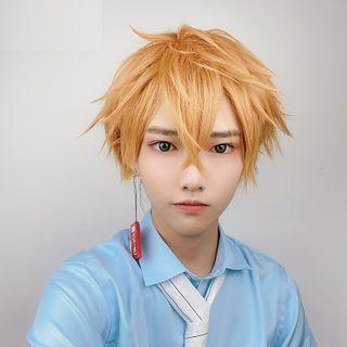 Macoss - 地縛少年花子君 - 源光角色扮演假髮