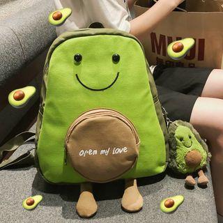 MUSIS - Avocado Canvas Backpack