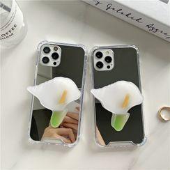 Case Study - Flower Stand Mirrored Phone Case - iPhone 12 Pro Max / 12 Pro / 12 / 12 mini / 11 Pro Max / 11 Pro / 11 / SE / XS Max / XS / XR / X / SE 2 / 8 / 8 Plus / 7 / 7 Plus