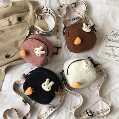 Calomes - Fleece Crossbody Bag