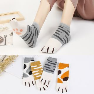 Pouffle - Cat Paw Socks