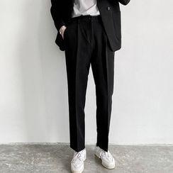 Nightbell - Straight Leg Dress Pants